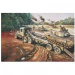 Maquette Scammel Tank Transporter