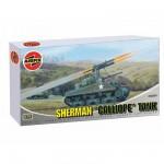 Maquette Char: Sherman Calliope Tank