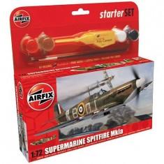 Maquette avion:  Starter Set: Supermarine Spitfire MkIa