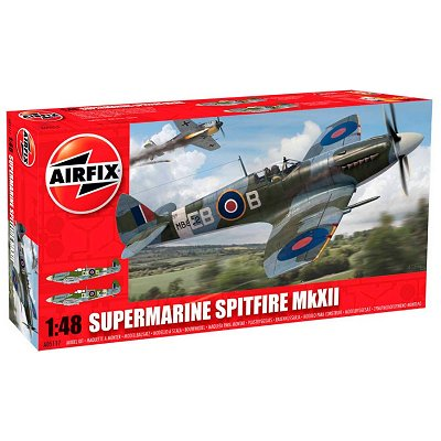 Maquette avion : Supermarine Spitfire MkXII  - Airfix-05117
