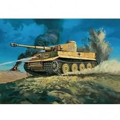 Maquette Char: Tiger I Tank