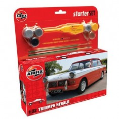 Maquette voiture: Starter Set: Triumph Herald