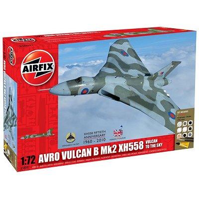 Maquette avion: Model Kit: Avro Vulcan B Mk2 XH558 - Airfix-50097