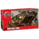 Maquette Char: WWI Male Tank
