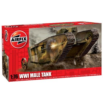 Maquette Char: WWI Male Tank  - Airfix-01315