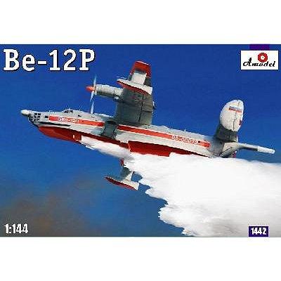 Maquette avionde lutte anti-incendies russe Beriev Be-12P - Amodel-AM1442
