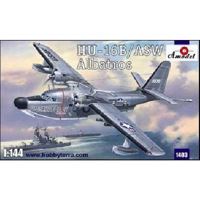Maquette avion: Grumman Albatros HU-16B/ASW - Amodel-AM1403