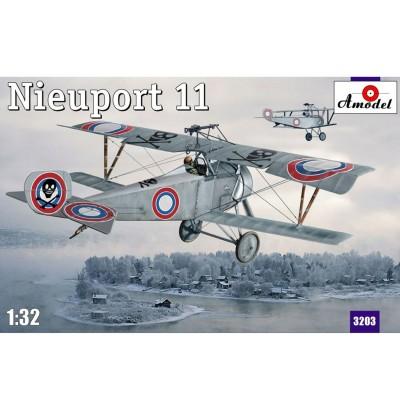Maquette avion: Nieuport 11 Bébé: Armée de l'air française 1916 - Amodel-AM3203