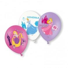 Ballons de baudruche anniversaire : 6 ballons Princesses Disney