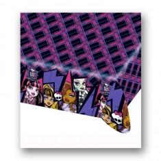 Lot de 2 nappes en papier : Monster High