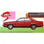 Maquette voiture : Jantes 3 branches et pneus Hiro V1-R