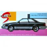 Maquette voiture : Jantes 5 branches et pneus Lauda Sport