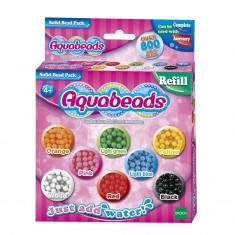 Perles Aquabeads : Recharge de 800 perles