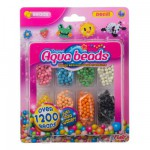 Perles Aquabeads 8 couleurs : Recharge 1200 perles