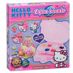 Perles Aquabeads Hello Kitty : Fashion set