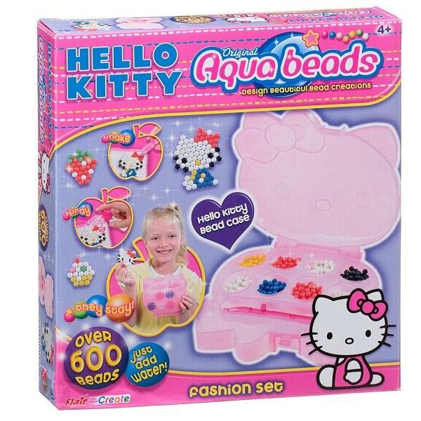 Perles Aquabeads Hello Kitty : Fashion set - Aquabeads-85468