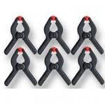 Mini serre joints vendus par 6 : Ecartement 0-30 mm