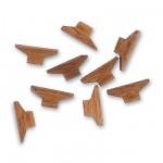 Accessoire pour maquette de bateau en bois : 8 taquets en bois 6 x 12mm