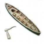 Accessoire pour maquette de bateau en bois : Bateau 95 mm