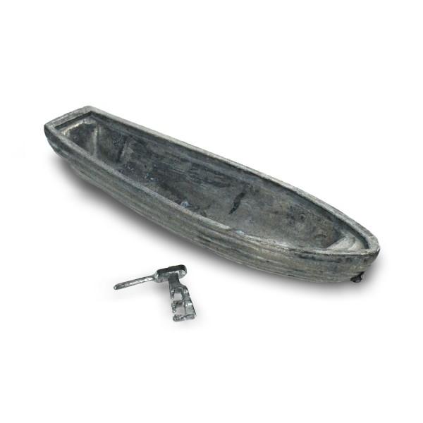 accessoire pour maquette de bateau en bois canot 95 mm avec gouvernail jeux et jouets. Black Bedroom Furniture Sets. Home Design Ideas