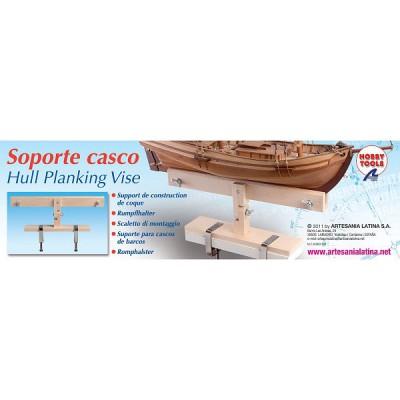 Accessoire pour maquette en bois : Support de construction de coque - Artesania-27011