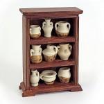 Accessoires pour maison de poupées : Mobilier et accessoires : Meuble et collection d'amphores
