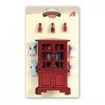Accessoires pour maison de poupées : Mobilier et accessoires : Salle de bain