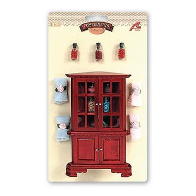 Accessoires pour maison de poupées : Mobilier et accessoires : Salle de bain - Artesania-98061