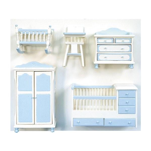 Accessoires pour maison de poup es mobilier pi ce par for Accessoire anglais pour chambre