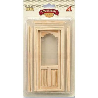 Accessoires pour maison de poup es portes et fen tres for Solde porte entree