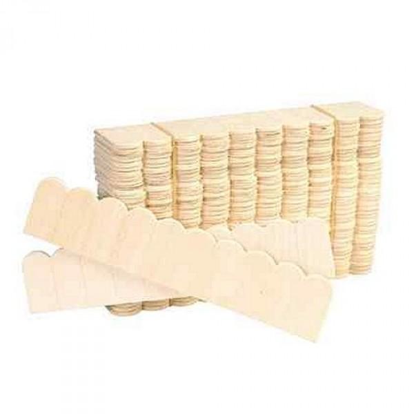 accessoires pour maison de poup es tuiles en bois rang es de 10 40 bandes jeux et jouets. Black Bedroom Furniture Sets. Home Design Ideas