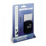 Accessoires pour maison de poupées : Eclairage: Transformateur, rallonge 12 prises, câble électrique