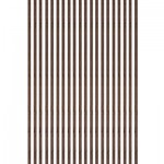 Baguettes de placage en bois x 20 : Noyer 1000 x 7 x 0.6 mm