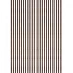 Baguettes de placage en bois x 25 : Noyer 1000 x 5 x 0.6 mm