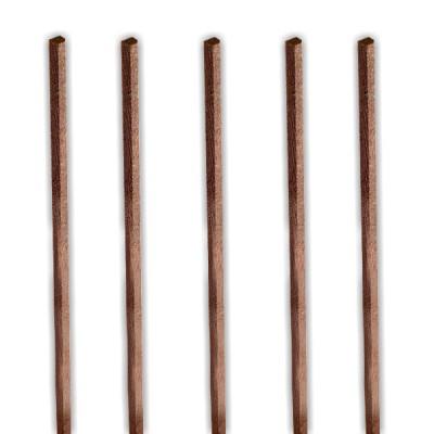 Artesania baguettes en bois x 5 noyer 1000 x 2 x 2 mm - Acheter des cagettes en bois ...