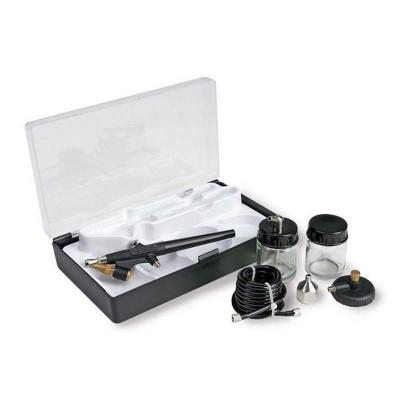 Coffret basique aérographe action simple plus accessoires - Artesania-27083-1