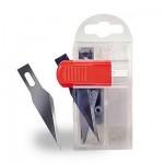 Dispensateur de sécurité avec 10 lames : Cutter nº 1