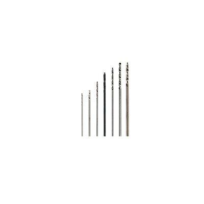 Jeu de 6 mini forets hss : ø 0.40 mm / 1.00 mm - Artesania-27218