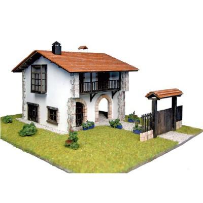 Maison en kit : Country collection : Maison comillas avec portail - Artesania-30611N