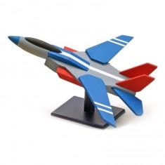 Maquette avion : Mon premier kit en bois : Avion de chasse moderne