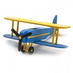 Maquette avion : Mon premier kit en bois : Biplan