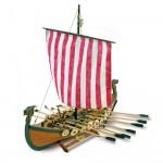 Maquette bateau en bois : Drakkar de vikings