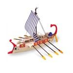 Maquette bateau en bois : Galère romaine Ave Cesar