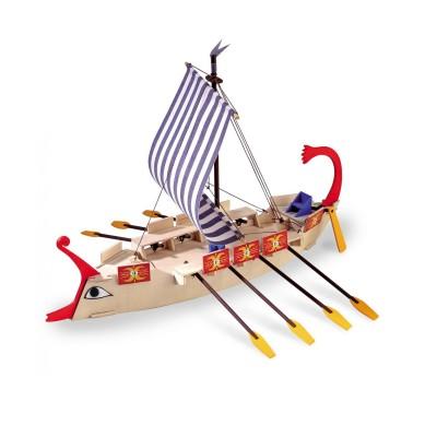 Maquette bateau en bois : Galère romaine Ave Cesar - Artesania-30508