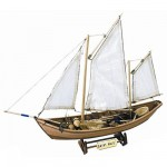 Maquette bateau en bois : Saint Malo