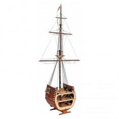 Maquette bateau en bois : Section galion San Francisco