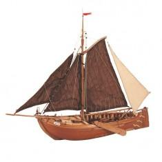 Maquette bateau en bois : Voilier hollandais Botter