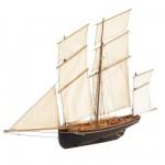 Maquette en bois : La  Cancalaise