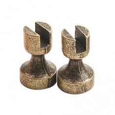 Accessoire pour maquette de bateau en bois : Base en métal 5 mm