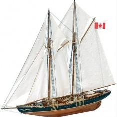 Maquette bateau en bois : Bluenose II